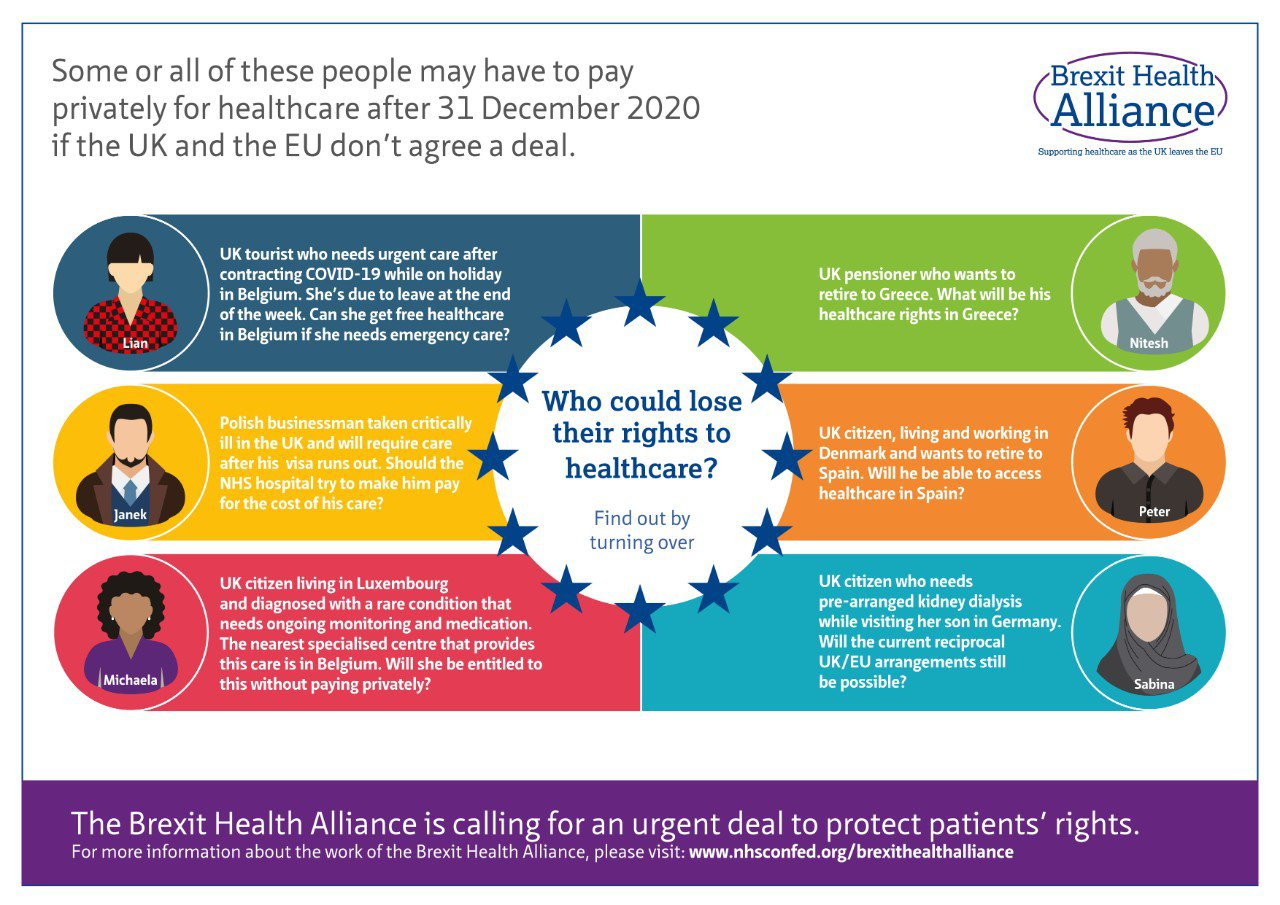 Brexit Health Alliance - Who could lose their rights to healthcare