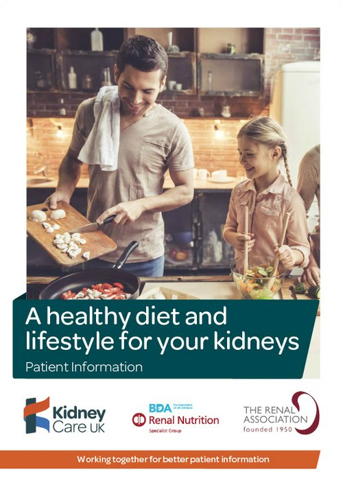 healthy eating on a renal diet cookbook for people with kidney disease