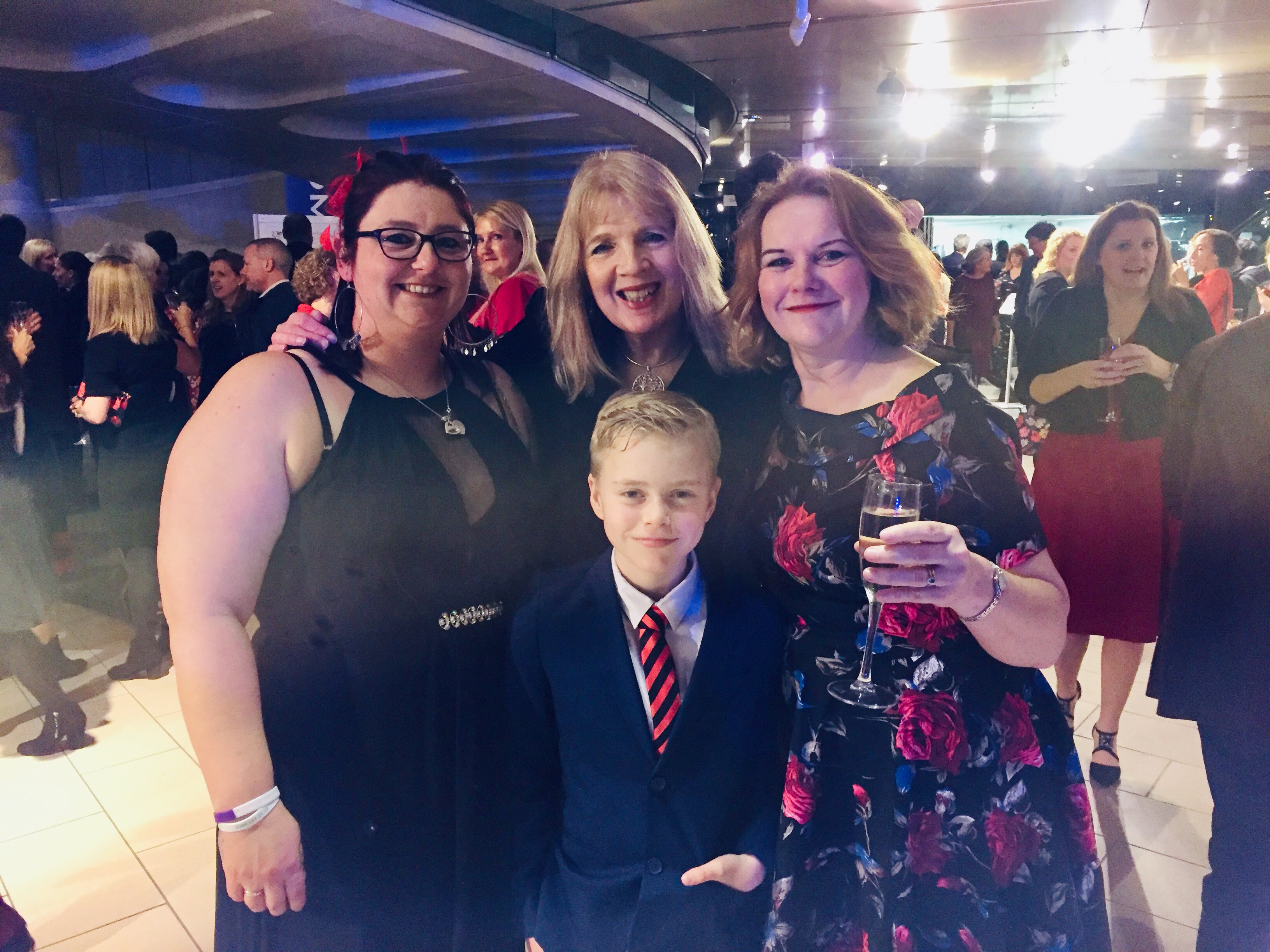 Organ Donation bill - Fiona with Max, his mum, and Keira's mum