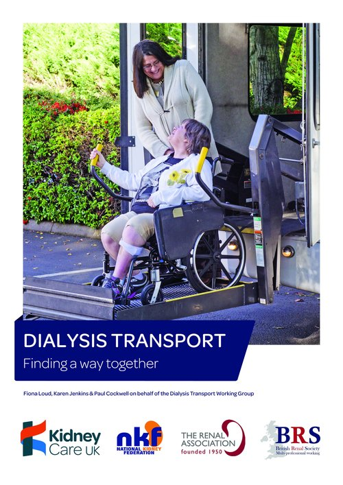 Kidney Care UK Patient Transport Report cover