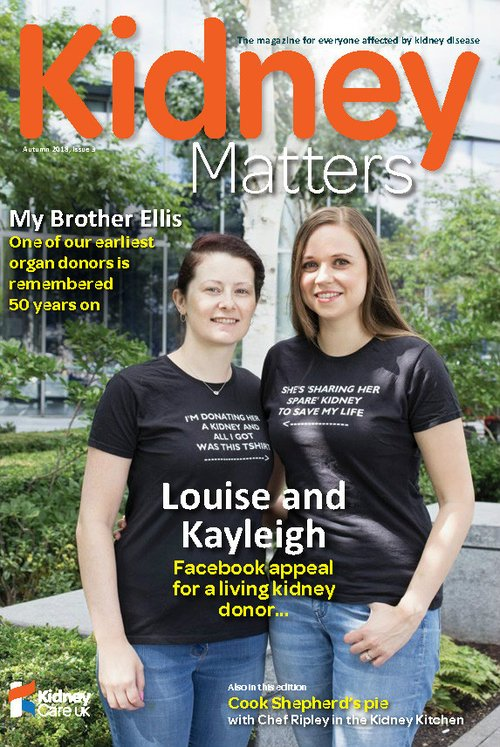 Kidney Matters Issue 3 front cover