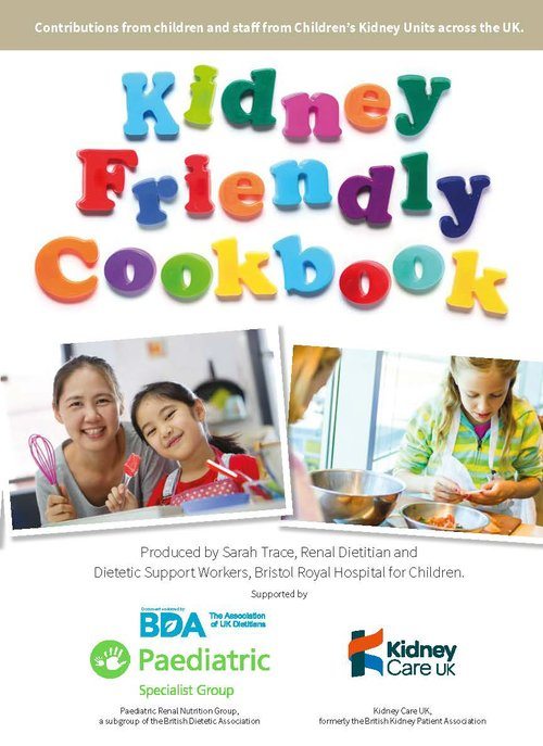 Kidney Friendly Cookbook cover