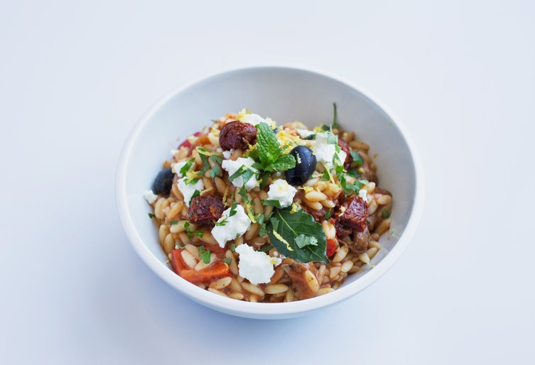 Greek lamb with orzo 1