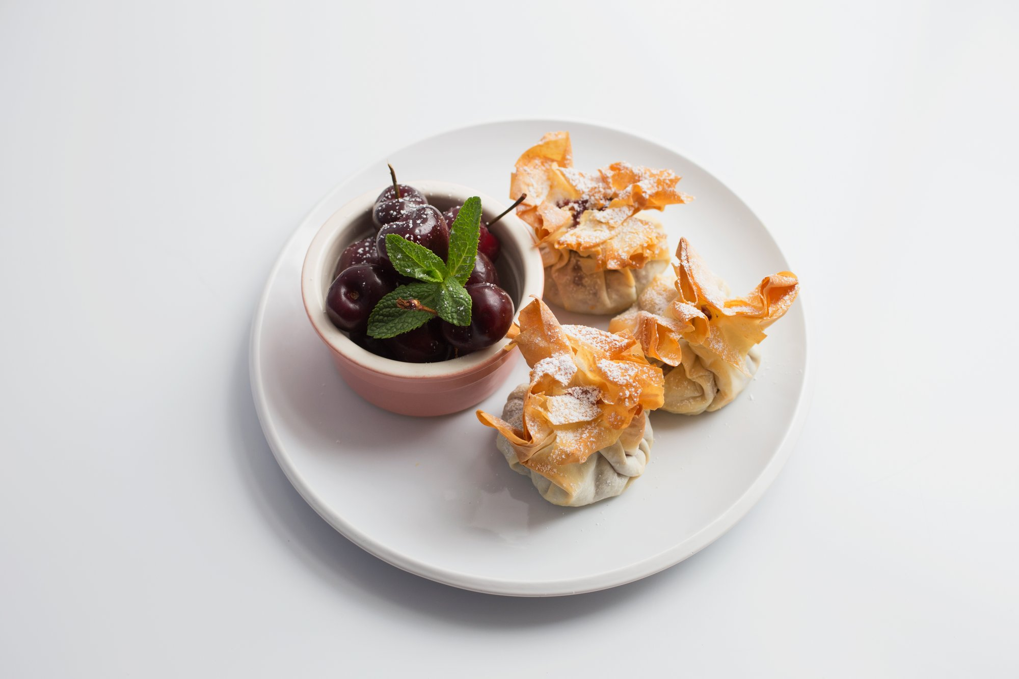 Kidney Kitchen - Cherry filo pastry tarts