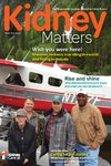 Kidney Matters - Issue 4, Winter 2019 cover