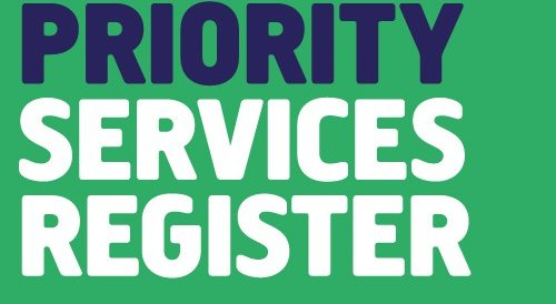 Priority Services Register
