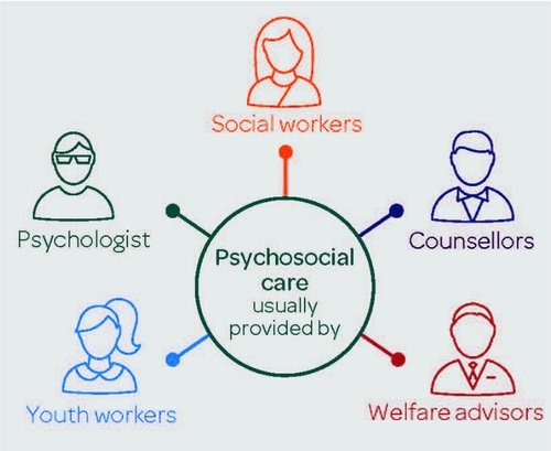 Psychosocial report Infographic - provided by