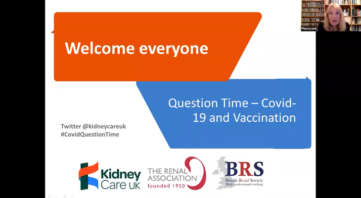 Question Time - covid-19 and vaccination