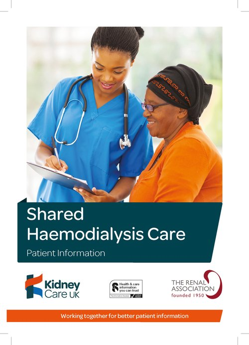 Shared Haemodialysis Care cover