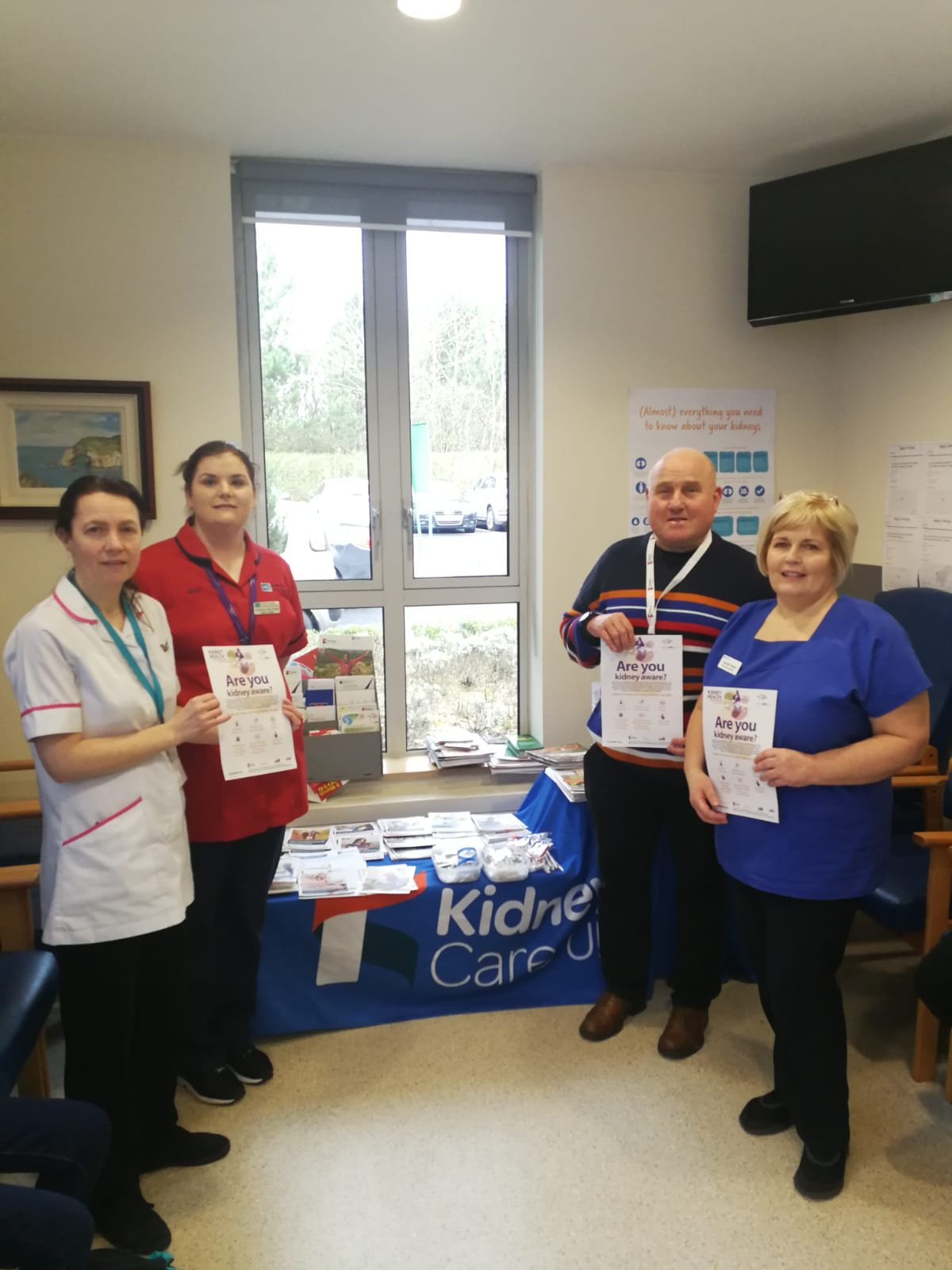 WKD - Antrim Renal Unit with Toni McCaig, Natasha McCullough, William Johnstone, and Louise Sloane